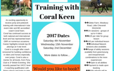Training with Coral Keen